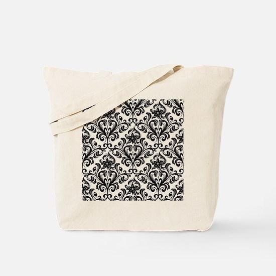 Cute Damask Tote Bag