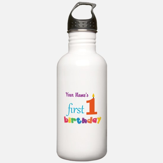 First Birthday - Perso Water Bottle