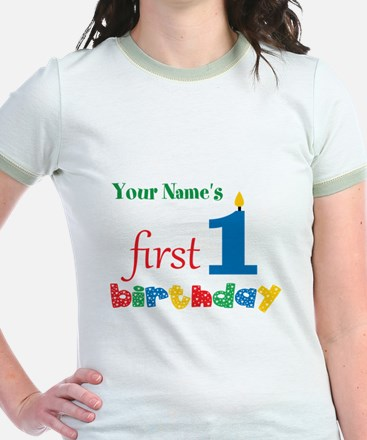 First Birthday - Personalized T