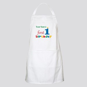 First Birthday - Personalized Apron