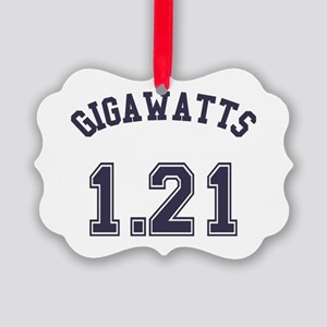1.21 Gigawatts Picture Ornament