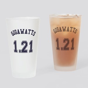 1.21 Gigawatts Drinking Glass