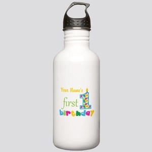 First Birthday - Perso Stainless Water Bottle 1.0L