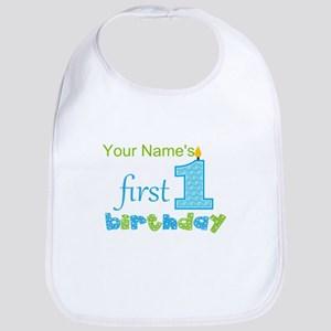 1st Birthday Baby Bibs