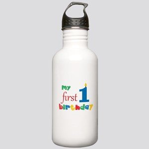 My First Birthday Stainless Water Bottle 1.0L