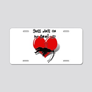Anti-Valentine - Guess Who' Aluminum License Plate