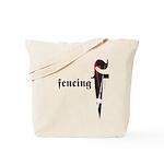 Fencing Edge Tote Bag