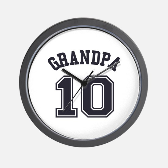 Grandpa's Uniform No. 10 Wall Clock