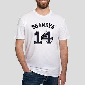 Grandpa's Uniform No. 14 Fitted T-Shirt