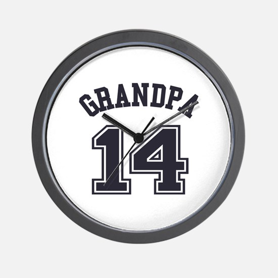Grandpa's Uniform No. 14 Wall Clock