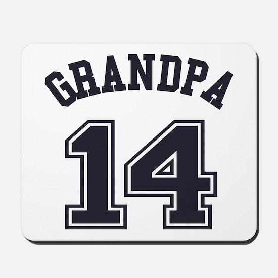 Grandpa's Uniform No. 14 Mousepad