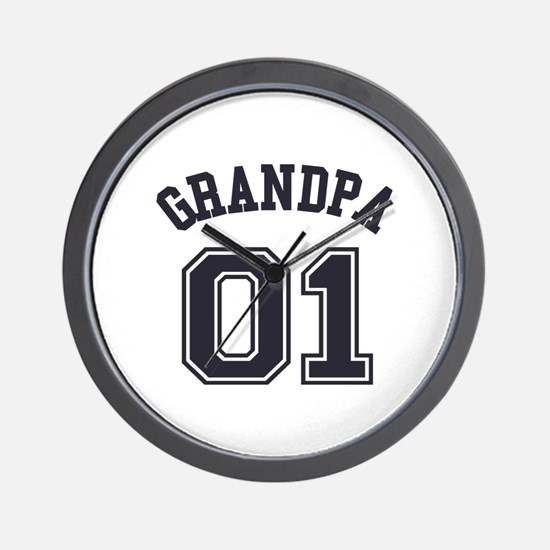 Grandpa's Uniform No. 01 Wall Clock