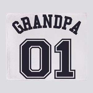 Grandpa's Uniform No. 01 Throw Blanket