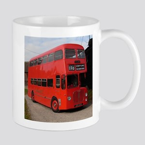 Red double decker bus Mugs