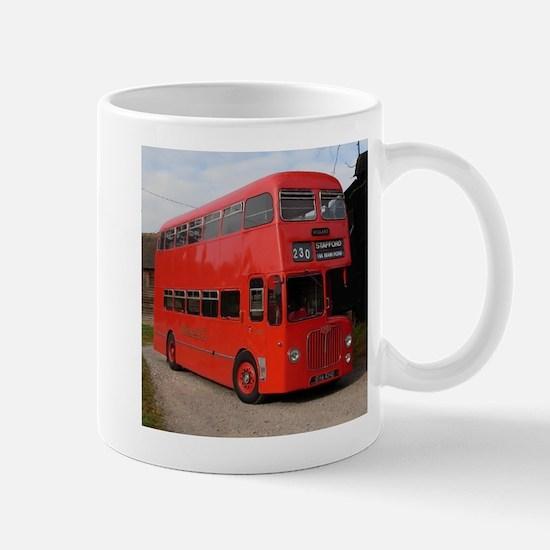 Red double decker bus Mugs