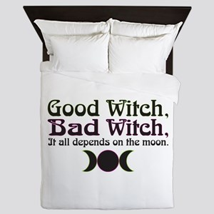Good Witch, Bad Witch... Queen Duvet