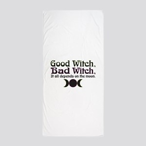 Good Witch, Bad Witch... Beach Towel