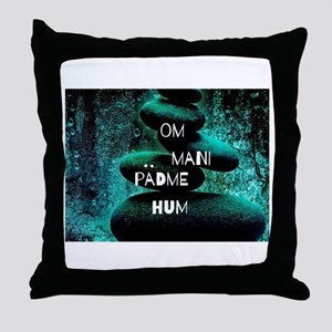 Om Mani Padme Hum Throw Pillow