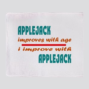 Applejack Improves With Age Throw Blanket