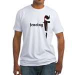 Fencing Edge Fitted T-Shirt