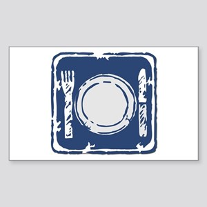 Eat Me Sticker (Rect.)