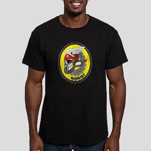mini bike Men's Fitted T-Shirt (dark)