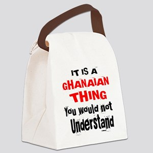 It Is Ghanaian Thing Canvas Lunch Bag