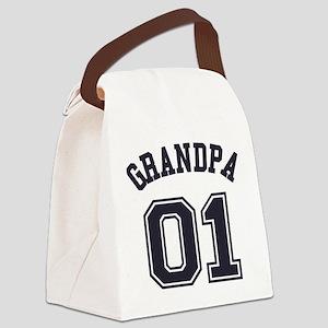 Grandpa's Uniform No. 01 Canvas Lunch Bag