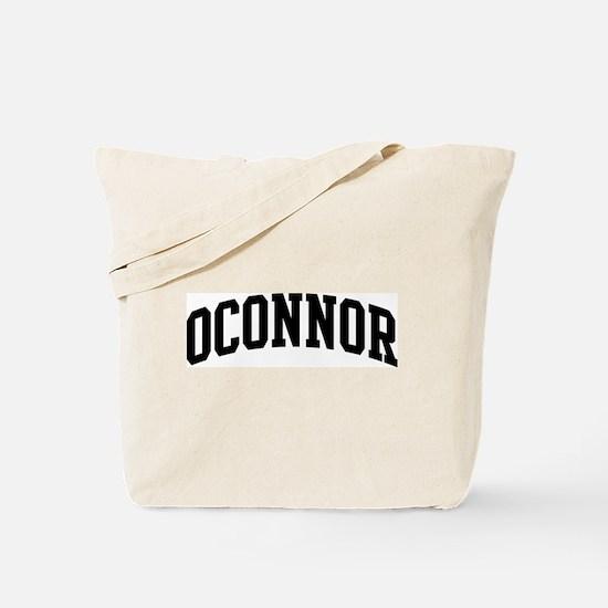 OCONNOR (curve-black) Tote Bag