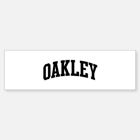 OAKLEY (curve-black) Bumper Stickers