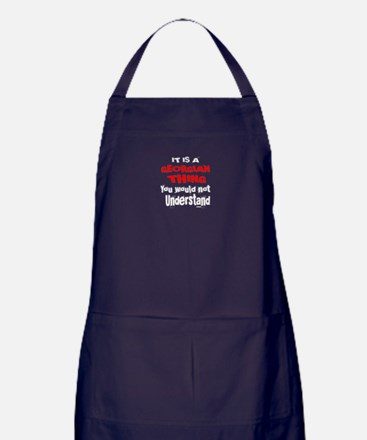 It Is Georgian Thing Apron (dark)