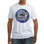 USS GEARING Fitted T-Shirt