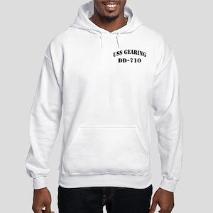 USS GEARING Hooded Sweatshirt