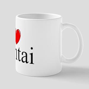 """I Love (Heart) Hentai"" Mug"
