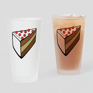 Cake design Drinking Glass