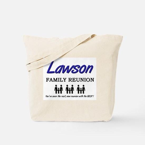 Lawson Family Reunion Tote Bag