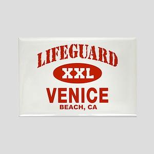 Lifeguard Venice Beach Rectangle Magnet