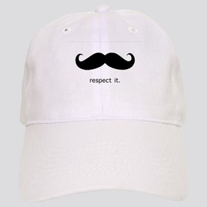 Respect the 'Stache Baseball Cap