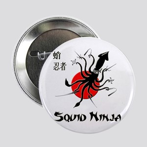 "Squid Ninja 2.25"" Button"