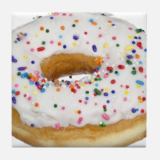 Cute Donut Tile Coaster