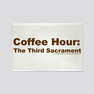 Coffee Hour Rectangle Magnet
