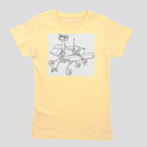 Rover Drawing Large Girl's Tee