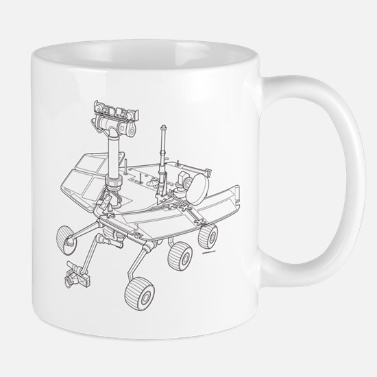 Rover Drawing Large Mug
