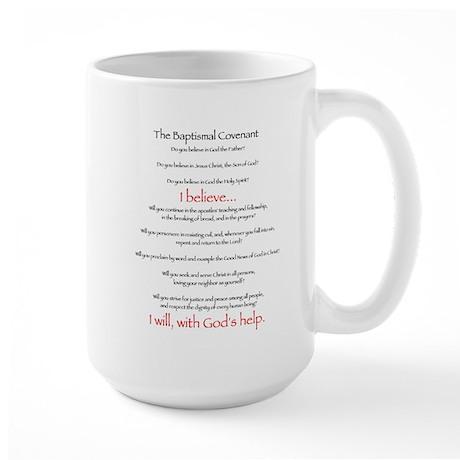 Baptismal Covenant Large Mug
