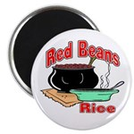 Red Beans and Rice Magnet