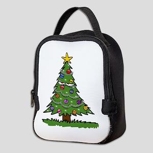 Disgruntled Christmas Tree Neoprene Lunch Bag