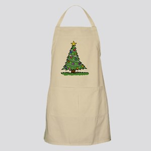 Disgruntled Christmas Tree Apron