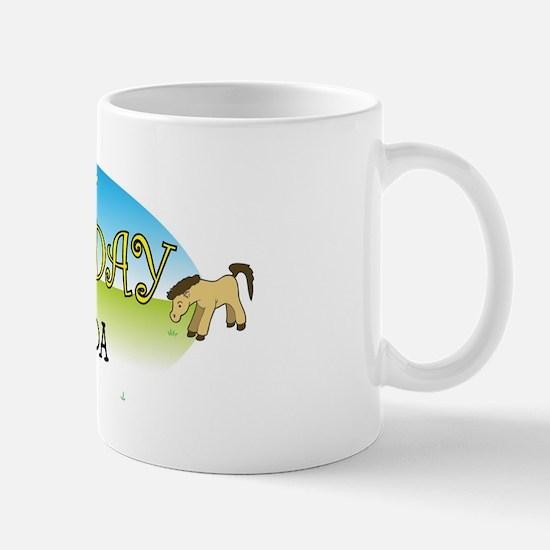 Happy B-Day Amanda (farm) Mug