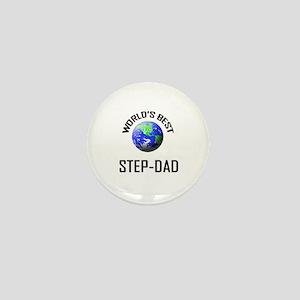 World's Best STEP-DAD Mini Button