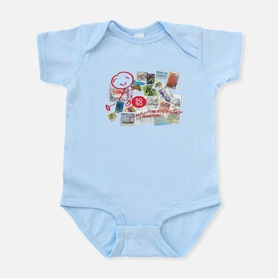 SG50-Singapore's 50th Bday! Infant Bodysuit